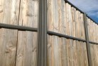 Antonymyre Lap and cap timber fencing 2