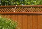Antonymyre Wood fencing 14
